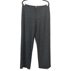 Eileen Fisher Wool Knit Gray Pants